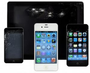 Смяна на счупено стъкло на iPone, iPad