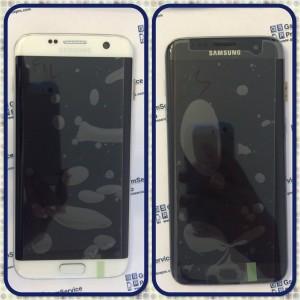 Дисплей за Samsung Galaxy S7 edge G935F черен,бял